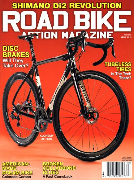Road Bike Action Cover - 4/1/2015