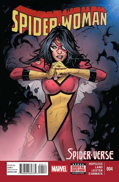 Spider-Woman Cover - 4/1/2015