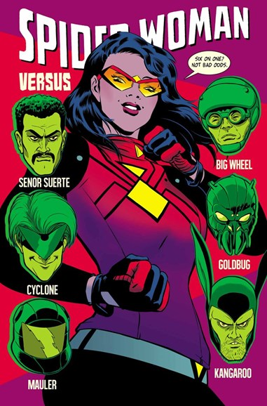 Spider-Woman Cover - 7/1/2015