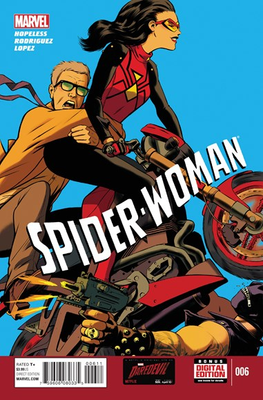 Spider-Woman Cover - 6/1/2015