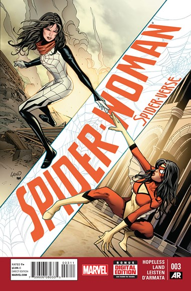 Spider-Woman Cover - 3/1/2015