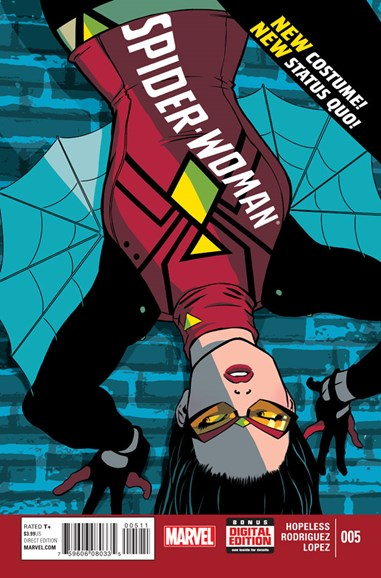 Spider-Woman Cover - 5/1/2015