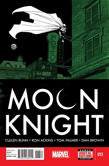Moon Knight Cover - 5/1/2015