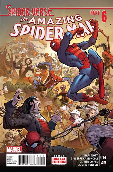 Amazing Spider-Man Cover - 4/1/2015