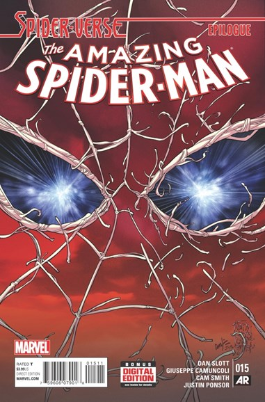 Amazing Spider-Man Cover - 4/15/2015