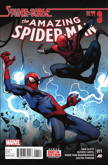 Amazing Spider-Man Cover - 2/1/2015