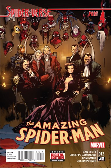 Amazing Spider-Man Cover - 3/1/2015