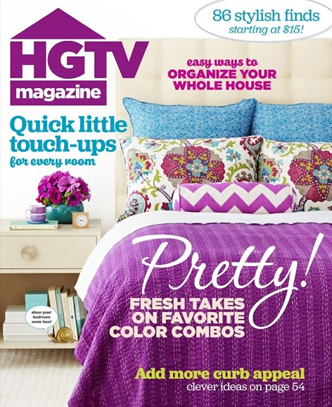 HGTV Cover - 3/1/2015