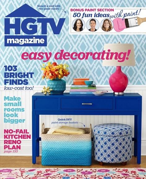 HGTV Cover - 5/1/2015