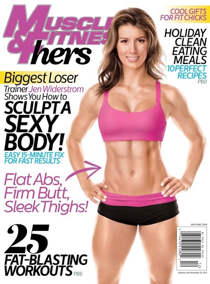 Muscle & Fitness Hers Cover - 11/1/2014