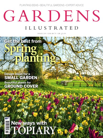 Gardens Illustrated Cover - 3/1/2015