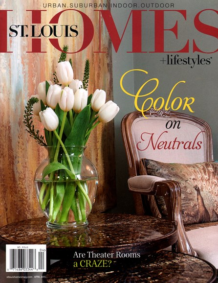 St. Louis Homes & Lifestyles Cover - 4/1/2015