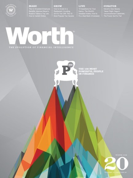Worth Cover - 10/1/2012