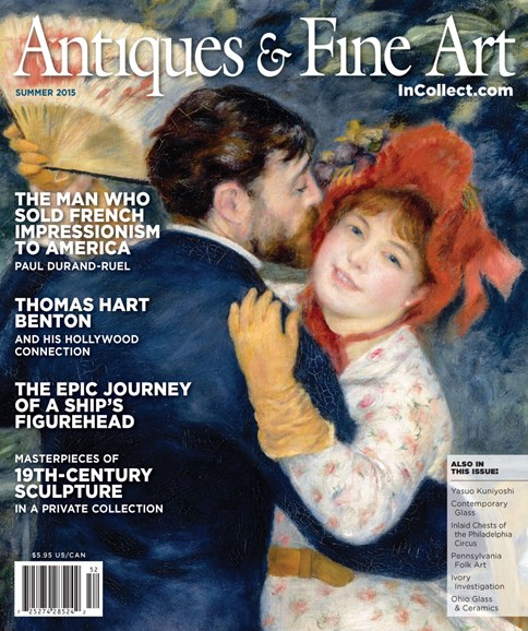 Antiques & Fine Art Cover - 6/1/2015