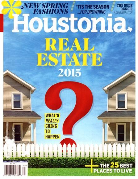 Houstonia Cover - 4/1/2015