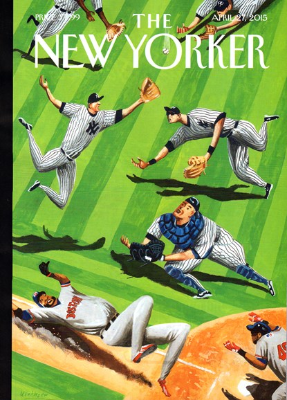 The New Yorker Cover - 4/27/2015