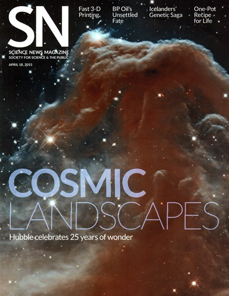 Science News Cover - 4/18/2015