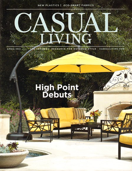 Casual Living Cover - 4/1/2015