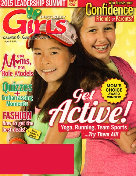 Discovery Girls Cover - 4/1/2015