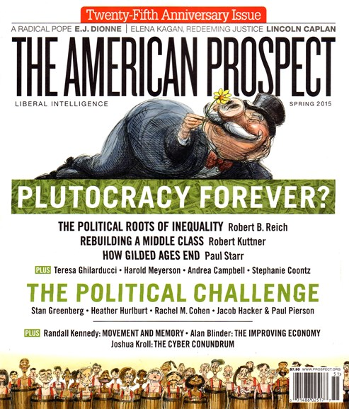 The American Prospect Cover - 3/1/2015