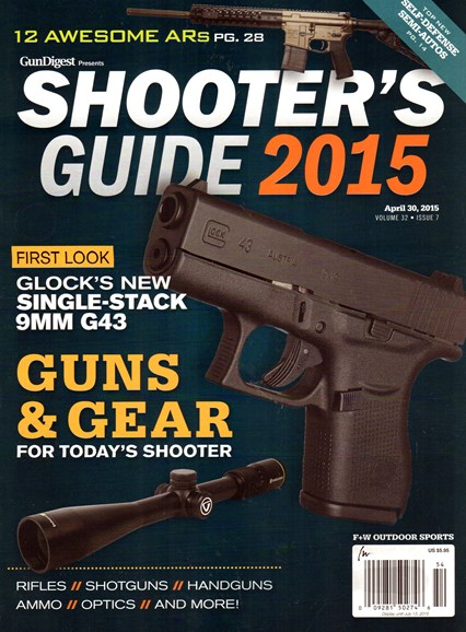Gun Digest Cover - 4/30/2015