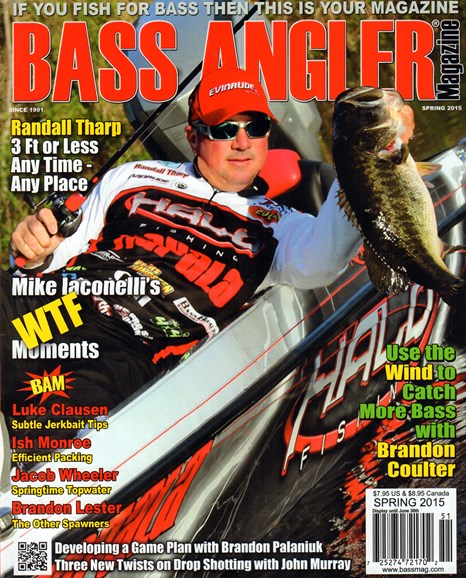 Bass Angler Cover - 3/1/2015