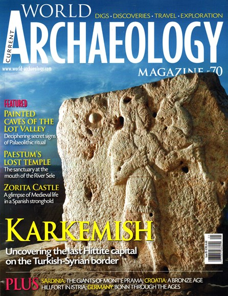 Current World Archaeology Cover - 4/1/2015