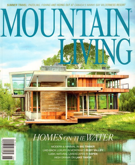Mountain Living Cover - 5/1/2015