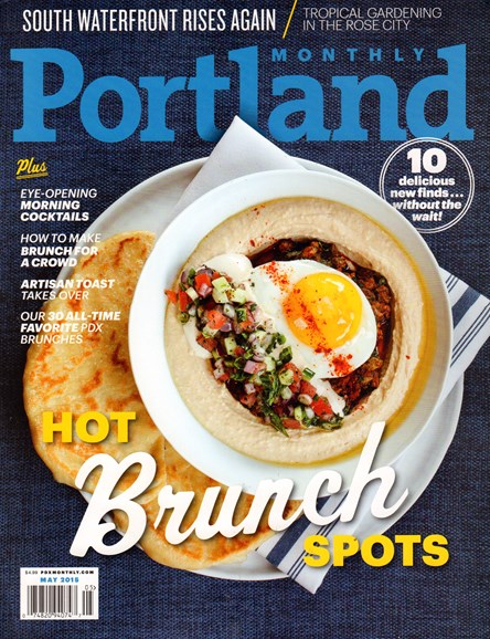 Portland Monthly Cover - 5/1/2015
