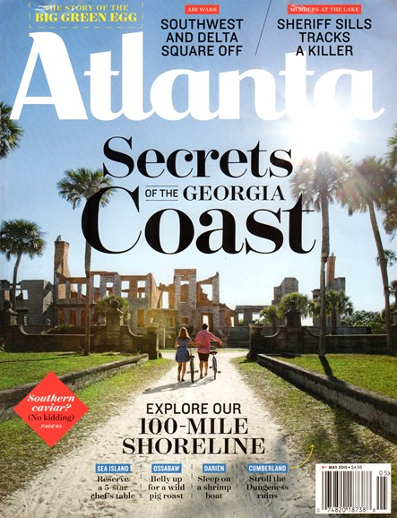 Atlanta Magazine Cover - 5/1/2015
