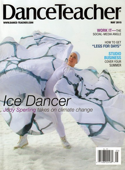 Dance Teacher Cover - 5/1/2015