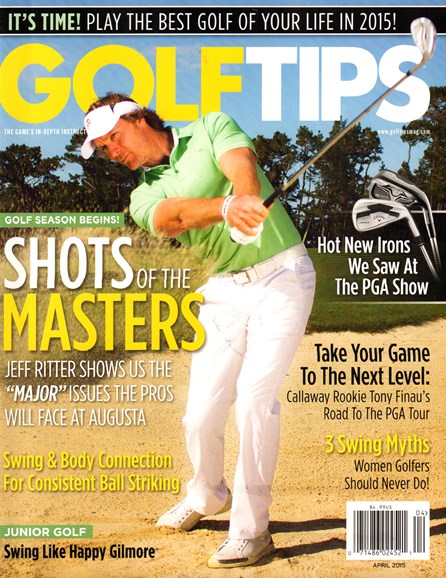 Golf Tips Cover - 4/1/2015