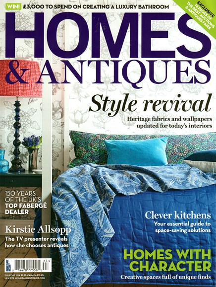 Homes & Antiques Cover - 4/1/2015