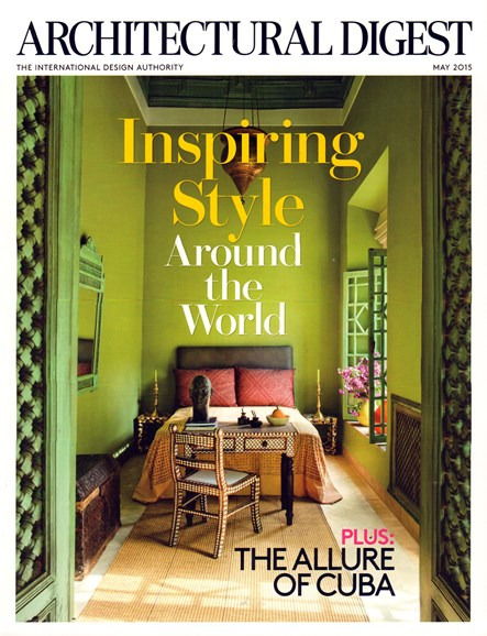 Architectural Digest Cover - 5/1/2015