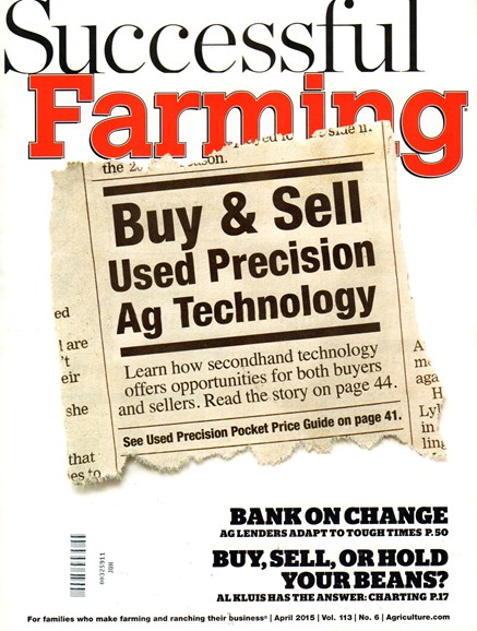Successful Farming Cover - 4/1/2015