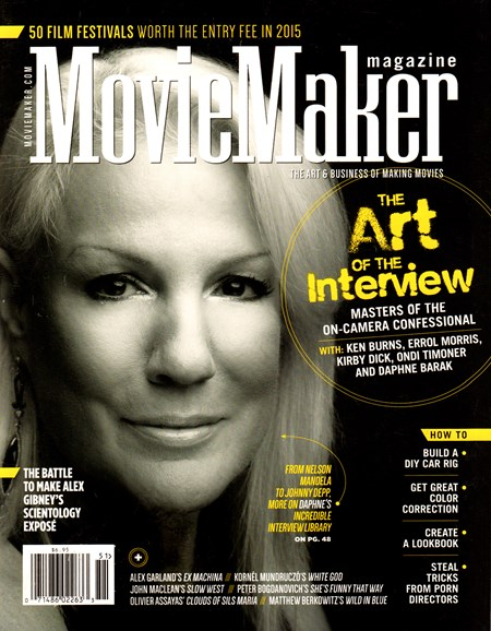 Moviemaker Magazine Cover - 3/1/2015