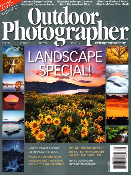 Outdoor Photographer Cover - 5/1/2015