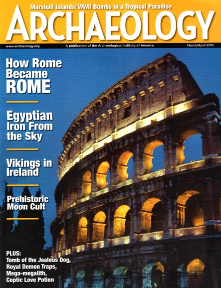 Archaeology Cover - 3/1/2015