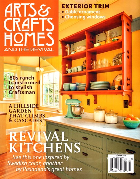 Arts & Crafts Homes Cover - 6/1/2015