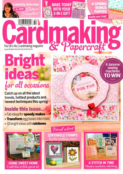CardMaking & PaperCrafts Cover - 4/1/2015