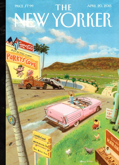 The New Yorker Cover - 4/20/2015
