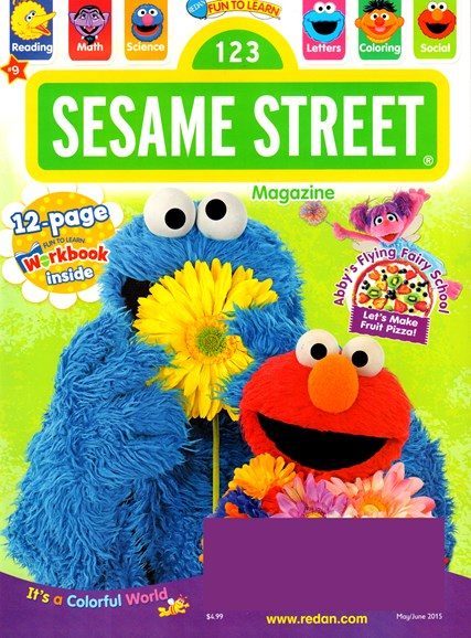 Sesame Street Cover - 5/1/2015