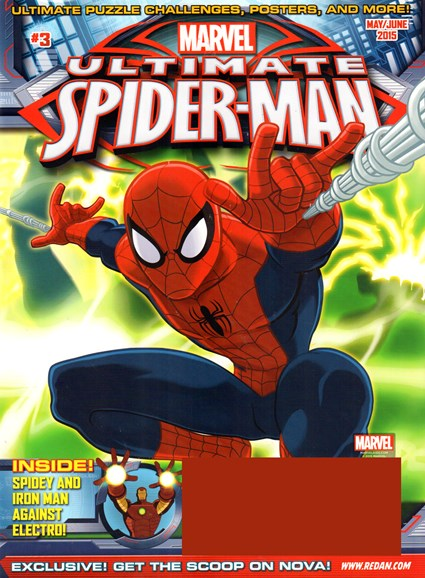 Marvel Spider-Man Cover - 5/1/2015