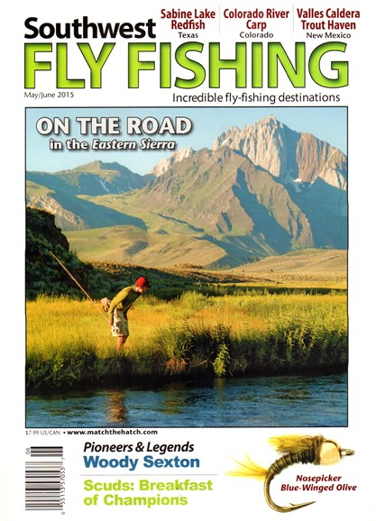 Southwest Fly Fishing Cover - 5/1/2015