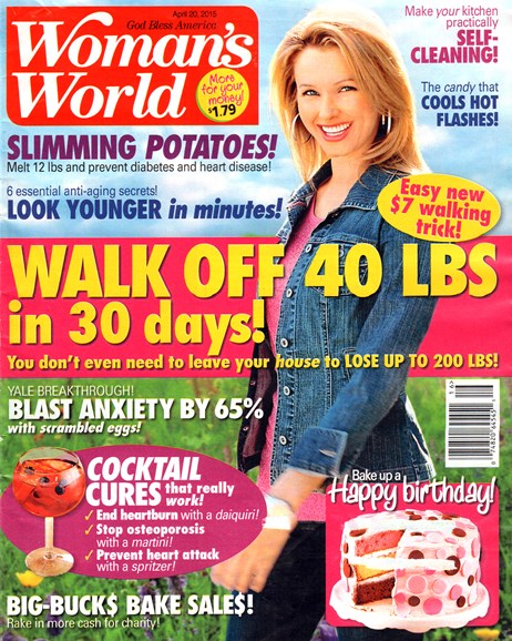 Woman's World Cover - 4/20/2015