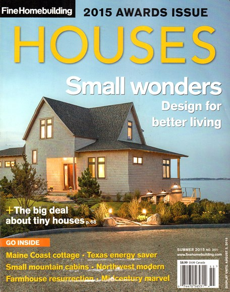 Fine Homebuilding Cover - 6/1/2015