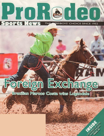 Pro Rodeo Sports News Cover - 4/24/2015