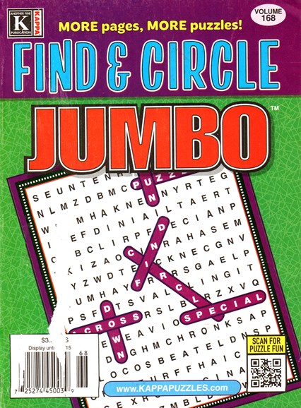 Find & Circle Jumbo Cover - 6/1/2015