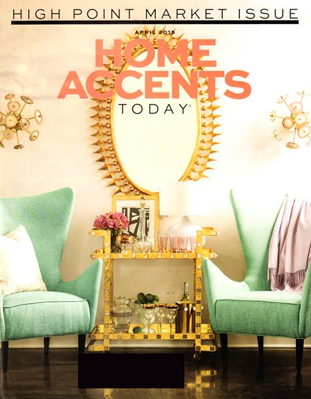 Home Accents Today Cover - 4/1/2015