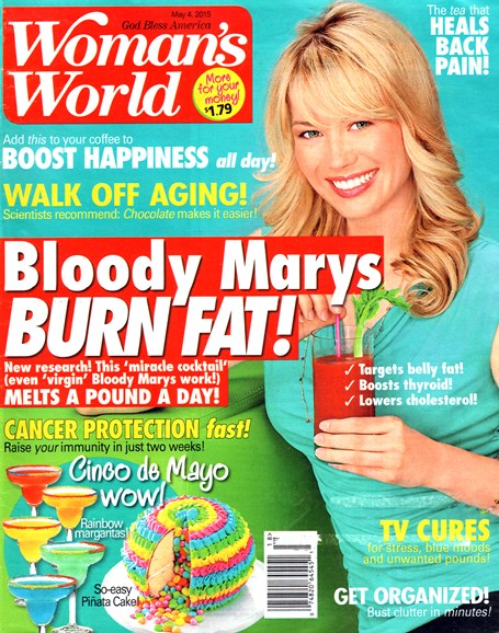 Woman's World Cover - 5/4/2015